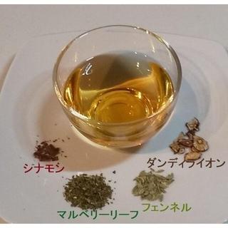 """お試し用 """"マルベリーリーフ&シナモン"""" ℬハーブ(約5回分)  (茶)"""