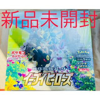 ポケモン(ポケモン)のポケモンカードゲーム イーブイヒーローズ 1box 新品未開封(Box/デッキ/パック)