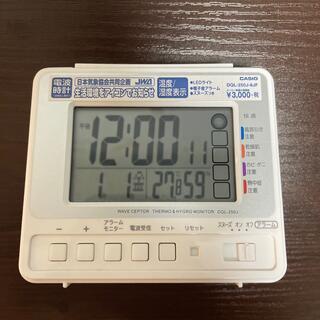 カシオ(CASIO)のCASIO  電波時計 置き時計(置時計)