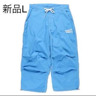 新品 ブルー Lサイズ 9090 Balloon Cargo Pants(ワークパンツ/カーゴパンツ)