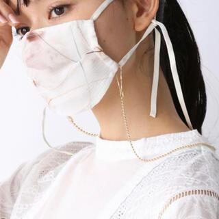 ジーナシス(JEANASIS)の新品未使用 ジーナシス マスクチェーン ネックレス マスクストラップ(ネックレス)