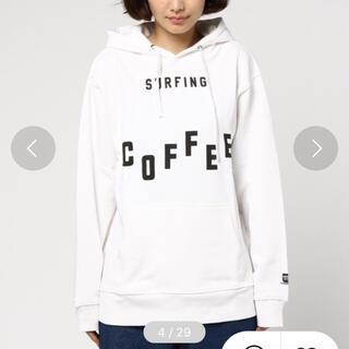 トゥデイフル(TODAYFUL)のSURFING COFFEE Coffeeプリントパーカープルオーバー(パーカー)