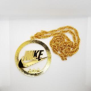 ナイキ(NIKE)の【極レア】NIKE ナイキ ゴールド チェーン ネックレス マイケルジョーダン (ネックレス)