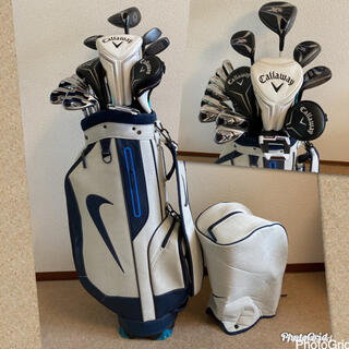 Callaway Golf - 人気‼️【美品】キャロウェイ♪XR★ゴルフクラブセット/メンズ キャディバッグ付