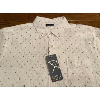 アーノルドパーマー(Arnold Palmer)のアーノルドパーマ 半袖 ボタンダウンシャツ  Mサイズ ホワイト(ウエア)