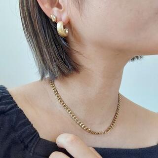 ナノユニバース(nano・universe)の【ゴールド】6mm cuban chain necklace(ネックレス)