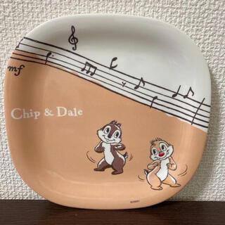 チップアンドデール(チップ&デール)のチップとデール メラニン皿(食器)