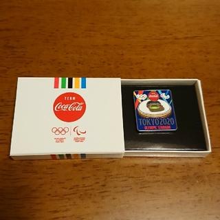 コカコーラ(コカ・コーラ)の東京2020記念ピン(ピンバッジ)  オリンピックスタジアム(その他)