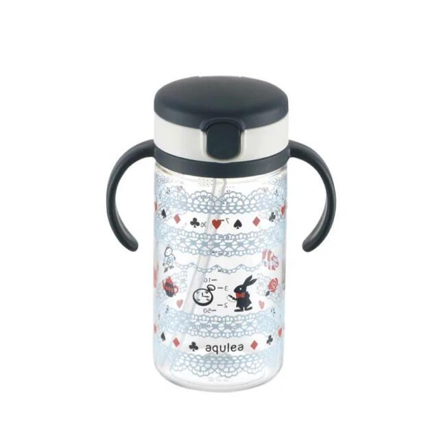 Richell(リッチェル)のリッチェル アクリア おでかけストローマグ 320 マグポーチセット アリス キッズ/ベビー/マタニティの授乳/お食事用品(マグカップ)の商品写真