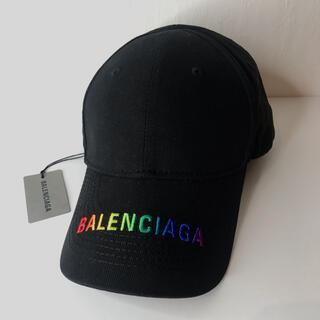 バレンシアガ(Balenciaga)のバレンシアガ キャップ 帽子 レインボーロゴ エブリデイ サイズ調整可能(キャップ)