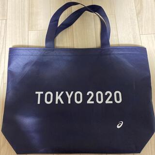 アシックス(asics)の【オリンピック】TOKYO2020大会記念 限定トートバッグ(ノベルティグッズ)