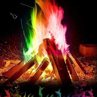 マジックファイヤ 10個  FIRE  ミスティカル 焚き火(その他)