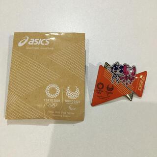 アシックス(asics)のアシックス オリンピックピンバッチ 東京2020 ミライトワ ソメイティ(ノベルティグッズ)