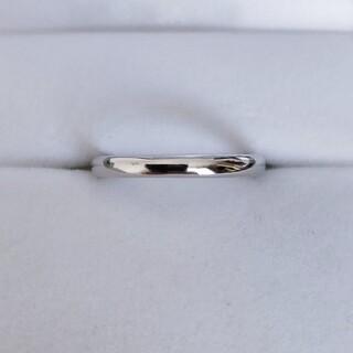 シャネル(CHANEL)のシャネル ジョン パリジャン マリッジ リング Pt950 2.0mm 3.1g(リング(指輪))