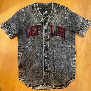 WANIMA - LEFLAH ベースボールデニムシャツ