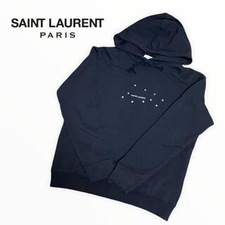 サンローラン(Saint Laurent)のSAINT LAURENT サンローランパリ パーカー スター ロゴ スウェット(パーカー)