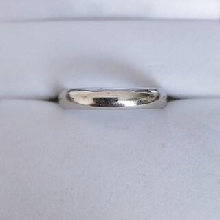 シャネル(CHANEL)のシャネル ホワイトゴールド リング K18WG 4.0mm 4.7g(リング(指輪))