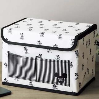 ミッキーマウス(ミッキーマウス)のミッキーマウスデザイン 収納ボックス(小物入れ)