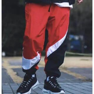 NIKE Bウーブンパンツ ナイロンパンツ国内正規品 RED(ワークパンツ/カーゴパンツ)