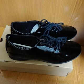 ドアーズ(DOORS / URBAN RESEARCH)のフォークアンドスプーン エナメル シューズ(ローファー/革靴)