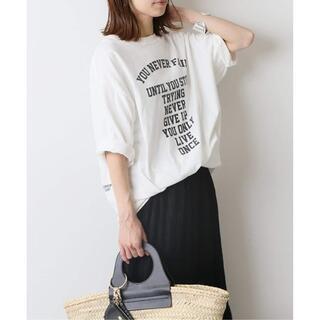 フレームワーク(FRAMeWORK)の21ss FRAMeWORK フロントロゴハーフスリーブT フレームワーク(Tシャツ(半袖/袖なし))
