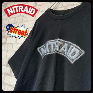 ナイトレイド(nitraid)の【希少】NITRAID ナイトレイド/Tシャツ レア NITRO HIPHOP(Tシャツ/カットソー(半袖/袖なし))