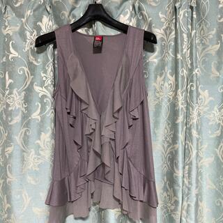 ダブルスタンダードクロージング(DOUBLE STANDARD CLOTHING)のダブルスタンダードクロージング フリルベスト ジレ(ベスト/ジレ)