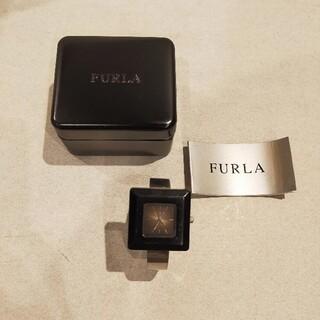 フルラ(Furla)のFURLA 腕時計 スクエアフレーム バングルタイプ(腕時計)