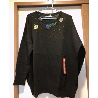 ツモリチサト(TSUMORI CHISATO)の今月末まで最終価格より300円引き!美品 ツモリチサト☆ニット(ニット/セーター)