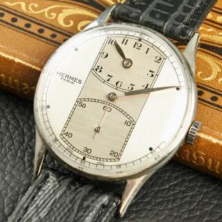 エルメス(Hermes)の★美品★OH済★エルメス レギュレーター 手巻き 腕時計 アンティーク(腕時計(アナログ))