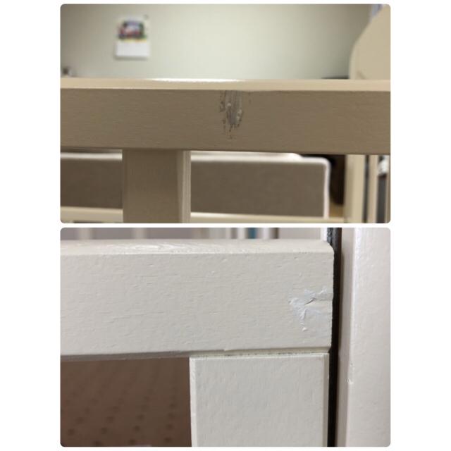 KATOJI(カトージ)のpon様専用 KATOJI  ハイタイプ ベビーベッド  プチバニラ ミニ キッズ/ベビー/マタニティの寝具/家具(ベビーベッド)の商品写真