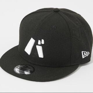 ニューエラー(NEW ERA)の新品 バ帽 9FIFTY CAP バナナマン キャップ 黒 ブラック 2021(キャップ)