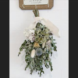 ドライフラワースワッグ 撮影用ブーケ 花束ギフト フラワーアレジメント 花束(ドライフラワー)