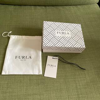 フルラ(Furla)のフルラ FURLA 二つ折り財布 空箱、タグ、保管袋(ショップ袋)