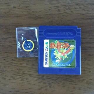 ゲームボーイ(ゲームボーイ)のGB ゲームボーイ ポケットモンスター 金 電池交換(携帯用ゲームソフト)