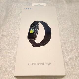 オッポ(OPPO)のOPPO Band Style ブラック(その他)
