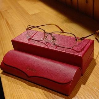 カルティエ(Cartier)の未使用に近い  メガネフレーム(サングラス/メガネ)