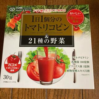 1日1個分のトマトリコピン&21種の野菜 ジュース6包(野菜)