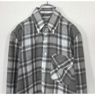 マーカウェア(MARKAWEAR)の●【麻100%】MARKAWARE/マーカウェア 長袖チェック柄 BDシャツ(シャツ)