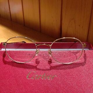 カルティエ(Cartier)の美品  メガネフレーム(サングラス/メガネ)