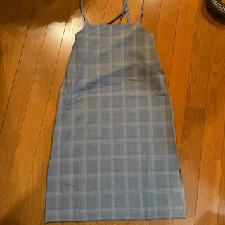ベルーナ(Belluna)のジャンパースカート 新品未使用(ひざ丈ワンピース)