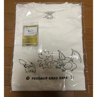 ポケモン(ポケモン)のYU NAGABA×ポケモンカード ピカチュウ&リザードン Tシャツ(Tシャツ/カットソー(半袖/袖なし))