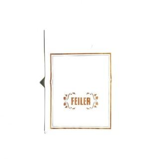 フェイラー(FEILER)のFEILER フェイラー ショッパー ショップ袋 新品未使用(ショップ袋)