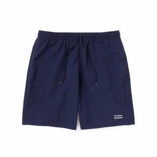 ワンエルディーケーセレクト(1LDK SELECT)のennoy nylon shorts ネイビー Mサイズ(ショートパンツ)