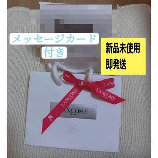 ランコム(LANCOME)のランコム ショッパー ショップ袋 リポン付き メッセージカード(ショップ袋)
