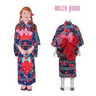 メゾピアノ(mezzo piano)のメゾピアノ チェリー 浴衣 110(甚平/浴衣)