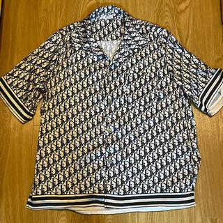 ディオール(Dior)のDIOR シルク オブリーク 半袖シャツ ディオール リアルシルク(Tシャツ/カットソー(半袖/袖なし))