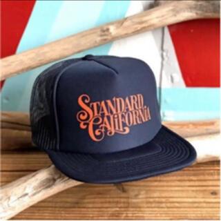 スタンダードカリフォルニア(STANDARD CALIFORNIA)の超希少Standard California  GR Logo Mesh Cap(キャップ)