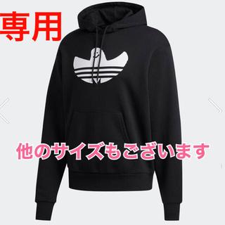 アディダス(adidas)の☆新品☆ adidas スケートボーディング シュムーパーカー Mサイズ 黒(パーカー)