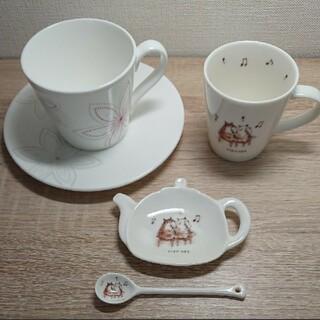 フランフラン(Francfranc)のFrancfranc マグカップ & clarinetティーカップ セット(グラス/カップ)